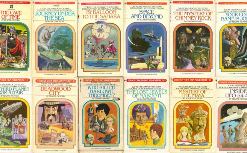 Life is a Choose Your Own Adventure Book
